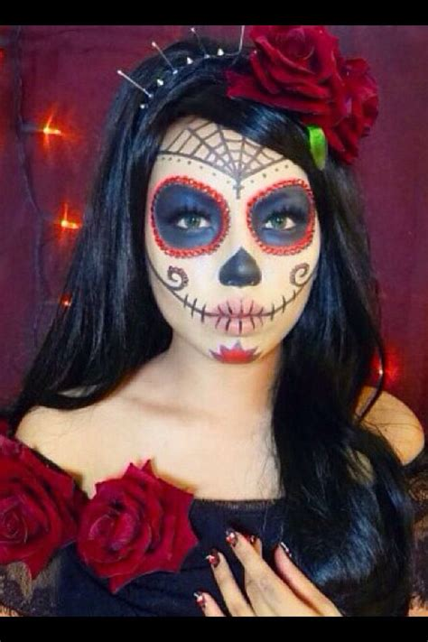 makeup dia best 25 sugar skull makeup tutorial ideas on