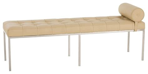 contemporary benches for bedroom grayson bench contemporary bedroom benches by masins