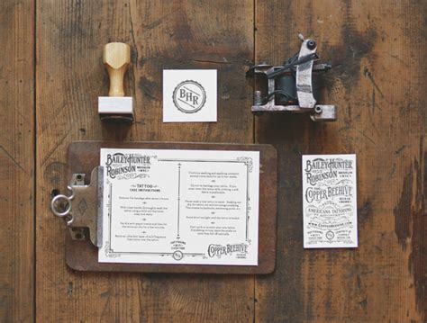 tattoo visiting card design letterpress artist business card design d verro