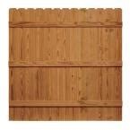 wood fence panels wood fencing fencing the home depot