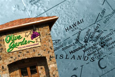 Olive Garden Hawaii by Olive Garden Is Opening Its Restaurant In Hawaii Eater