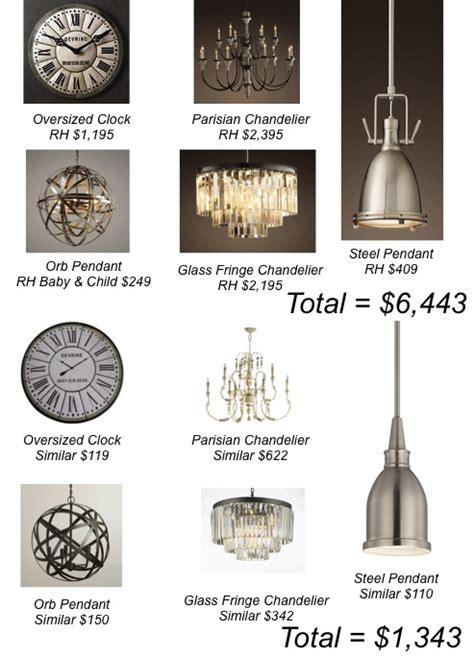 restoration hardware lighting knockoffs restoration hardware lighting knockoffs best home design