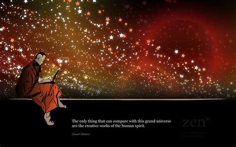 zen monk wallpaper melbourne website design hosting