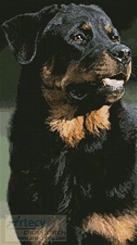 rottweiler message board rottweiler photo cross stitch pattern dogs