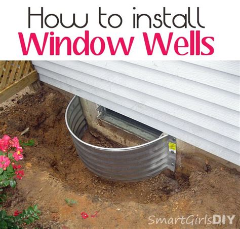 how to install a basement window well 25 best ideas about window well on egress