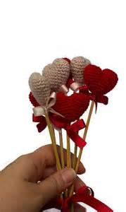 Heart Home Decor by Crochet Heart Red Heart Vase Decor Home Decor Birthday