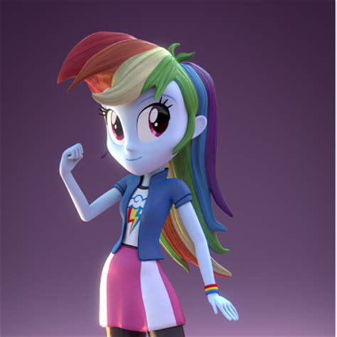 3d models of the equestria girls the creator of these can
