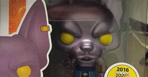 Funko Pop Animation Z Beerus Metallic Sdcc Exclusive z metallic beerus the destroyer pop figure by
