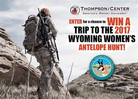 Hunting Trip Giveaways 2017 - enter to win a trip to the 2017 wyoming women s antelope hunt fin and field blog