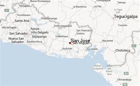 san jose doppler radar map san jose el salvador san miguel weather forecast