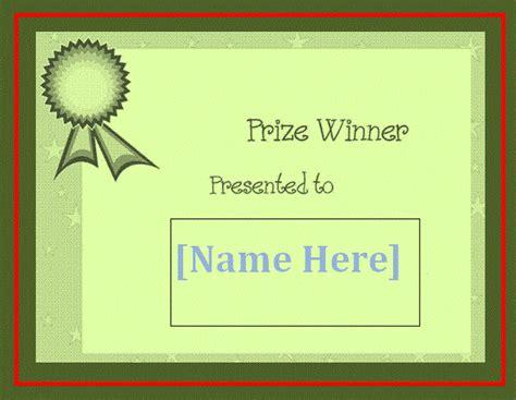 winners certificate template blank winner certificate template free word s templates
