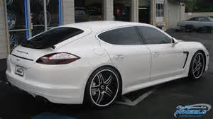Porsche Panamera On Rims Vernon Davis Car Porsche Panamera On Asanti Da162 Wheels