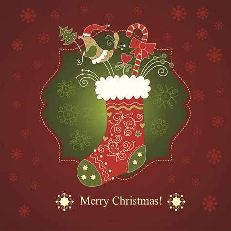 christmas photo cards holiday photo cards photo beautiful christmas greeting card 01 vector free vector