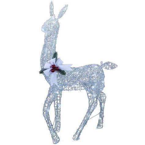 menards christmas horse outside decor 42 quot led lighted doe at menards 174