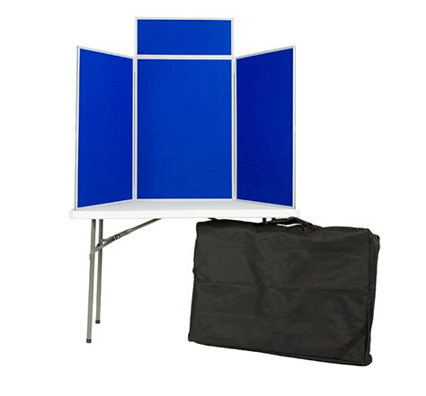 table top display boards 3 panel table top display boards folding desktop