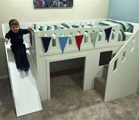 childrens bunk bed with slide 25 best ideas about bed with slide on
