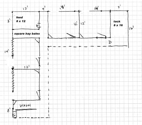 barn shaped house plans my l shaped dream barn horse ideology