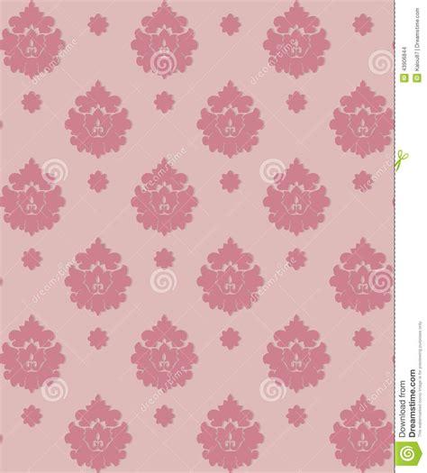 wallpaper luxury pink pink vintage wallpaper stock vector image 43906844