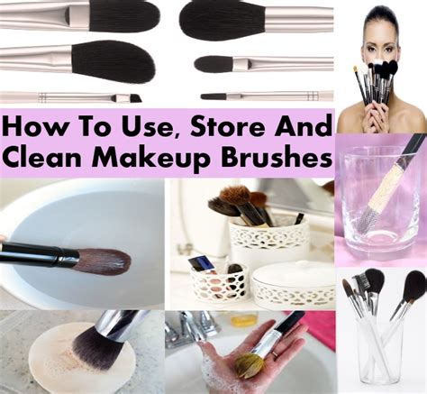 how to clean makeup brushes at home 28 images fashion