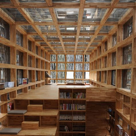 Interior Of Library by Liyuan Library Design By Li Xiaodong Atelier Architecture Interior Design Ideas And