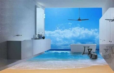 3d bathroom floor art 13 3d bathroom floor designs that will mess with your mind