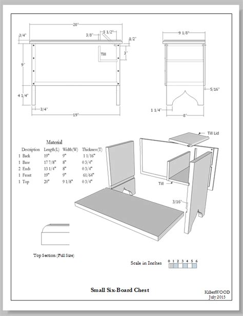 sketchup layout detail view furniture drawing styles old vs new finewoodworking