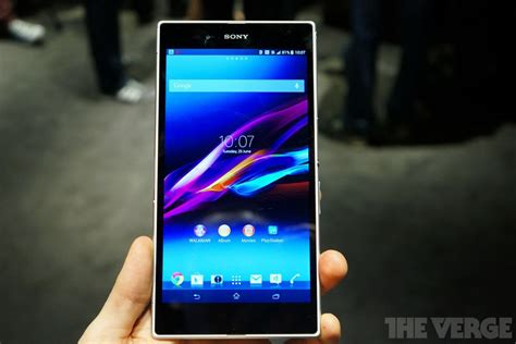 Tablet Xperia Z Ultra sony xperia z ultra on the smartphone that evolved