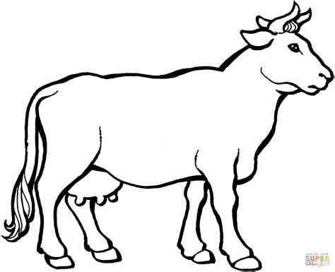 Cow 3 Coloring Online Super Coloring Cow Color