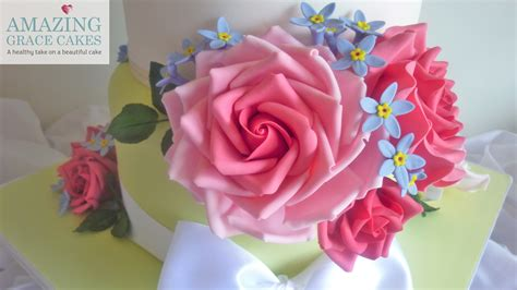 Handmade Sugar Flowers - celebration amazing grace cakes a healthy take on a