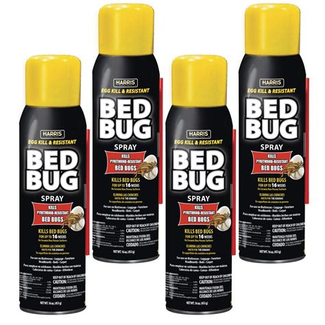 harris bed bug spray reviews harris 16 oz egg kill and resistant bed bug spray pack