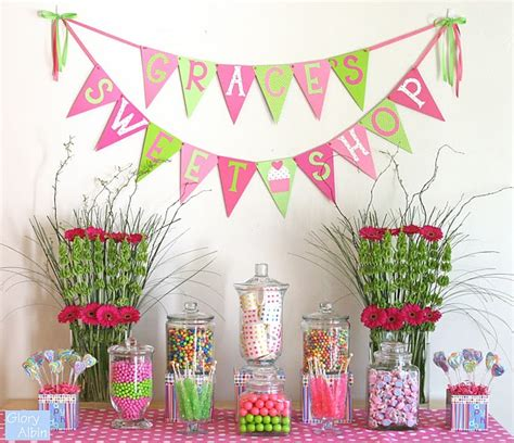 Pink And Green Decorations by Pink Green Ideas Pink Green Birthday Cake