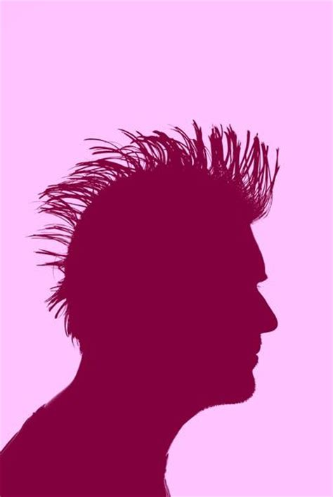 mohawk outline designs punk silhouette 2656 stockarch free stock photos