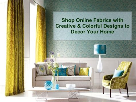 home decor fabrics online shop online fabric with creative colorful designs for