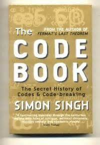 the code book dr simon singh 9781857028898 the code book by singh simon 2000