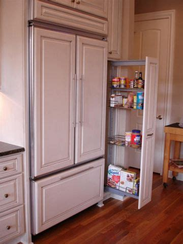 Cabinet covered built in refrigerator!   Dream Home