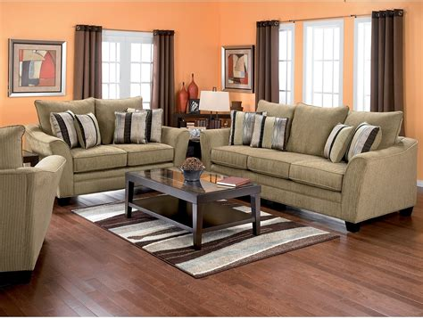 the brick couches allen chenille sofa taupe the brick