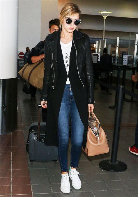 comfy shoes celebs wear   airport whowhatwear