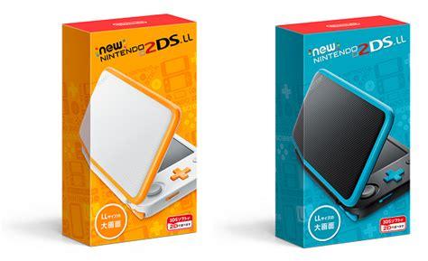 2ds colors nintendo announces new 2ds xl handheld japan gets