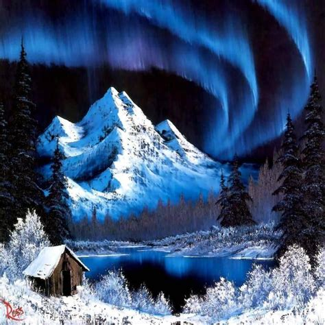 northern lights painting for sale painting by bob ross northern lights wallpaper