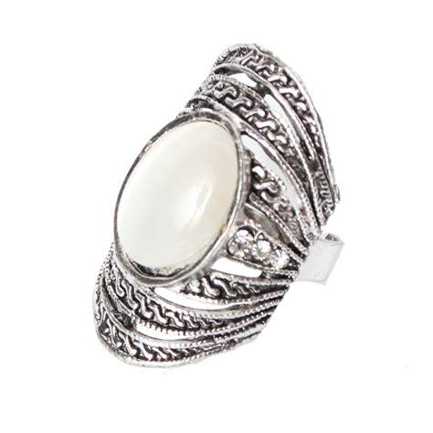 Edelstahl Ring by Edelstahl Ring Strass Perlen Modeschmuck Luxus One Size Ebay
