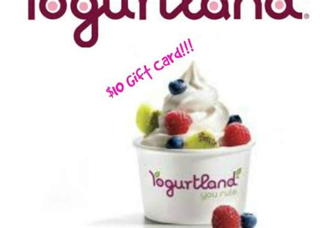Yogurtland Gift Card Check Balance - yogurtland gift card amount lamoureph blog