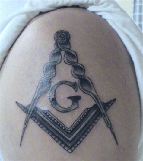 freemason tattoo masonic masonic freemasonry