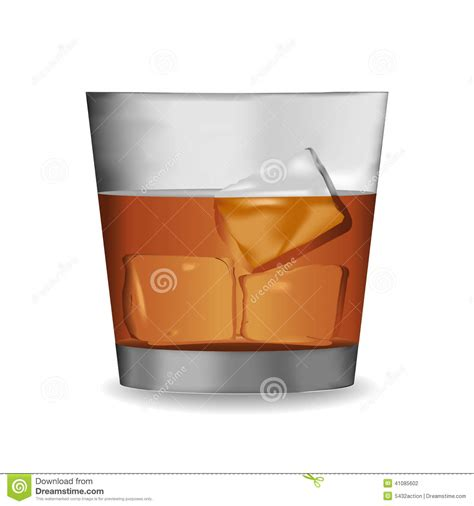 whiskey glass svg vector of whisky glass stock illustration image 41085602