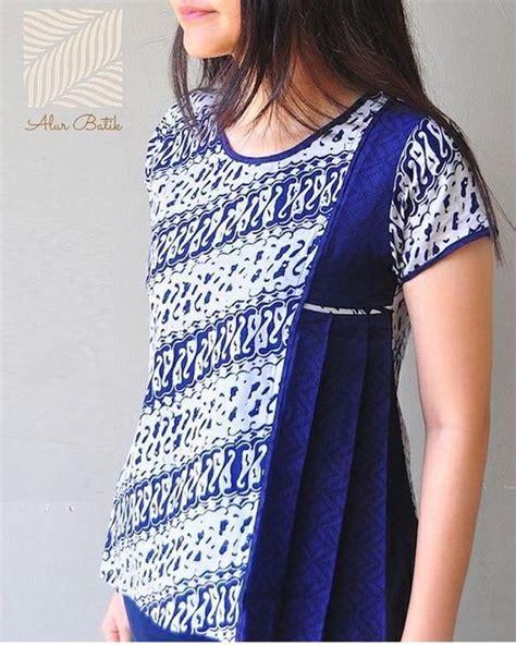 Model Baju Batik Atasan 70 model baju batik atasan wanita terbaru 2019 lengan