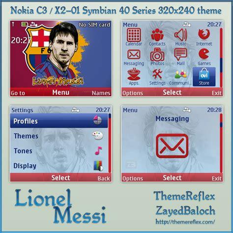 nokia c3 themes league of legends lionel messi theme for noki c3 x2 01 themereflex