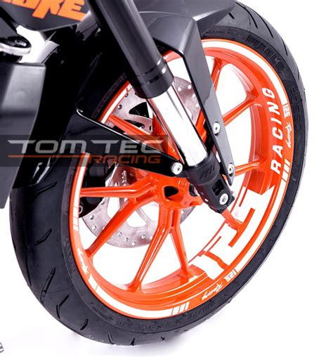 Ktm Duke 390 Tire Size Sticker Ktm Duke Rc 125 200 250 390 Sticker Vers