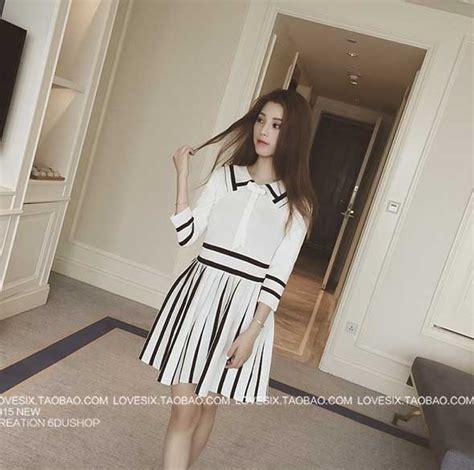 Overall Black Dress Hitam Lucu Murah pin korea murah gaun panjang ala jual dress on