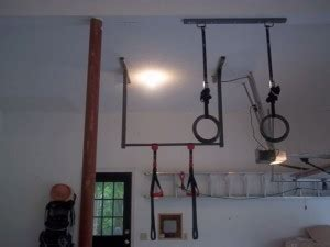 Garage Pull Up Bar Ceiling by How To Mount Your Pull Up Bar To Concrete Brick Or Block
