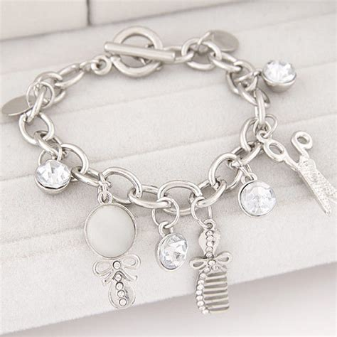 cadenas de plata para mujer con iniciales cadenas y pulseras de plata y oro