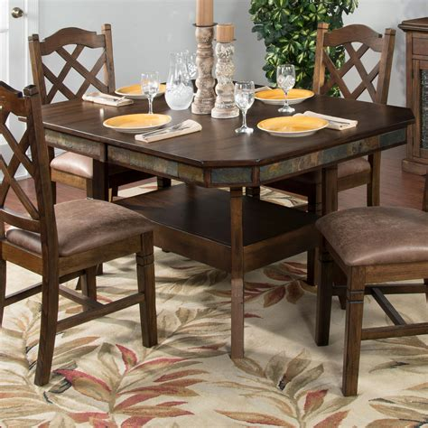 adjustable kitchen table designs adjustable height dining table w 2
